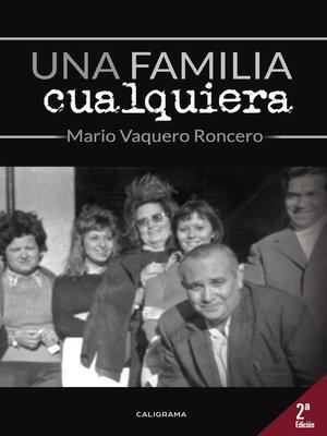 cover image of Una familia cualquiera