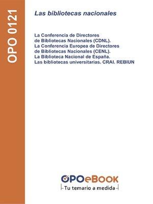 cover image of Las bibliotecas nacionales