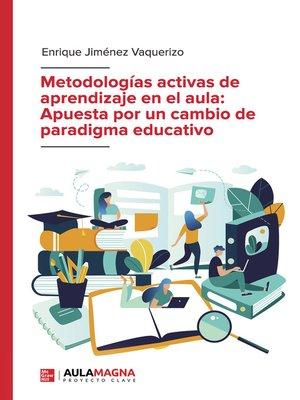 cover image of Apuesta por un cambio de paradigma educativo