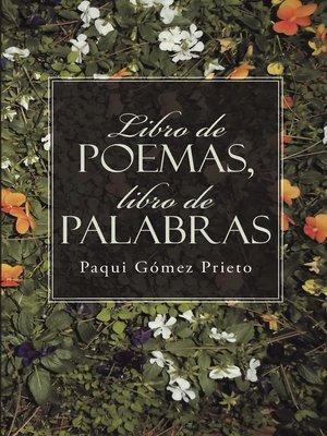 cover image of Libro de poemas, libro de palabras