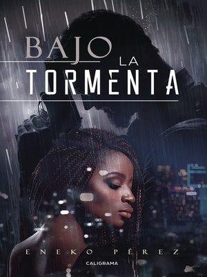 cover image of Bajo la tormenta