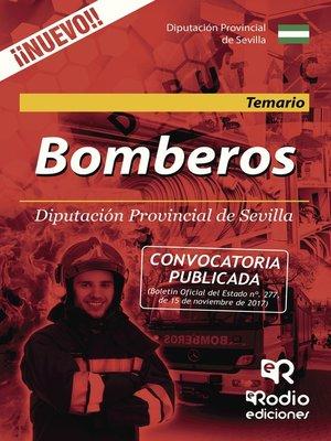cover image of Bomberos. Diputación Provincial de Sevilla. Temario