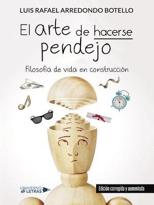 cover image of El arte de hacerse pendejo