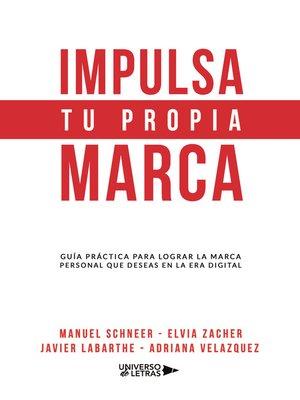 cover image of Impulsa tu propia marca