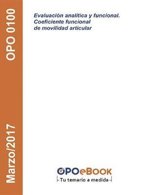 cover image of Evaluación analítica y funcional