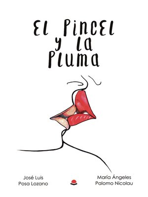 cover image of El pincel y la pluma