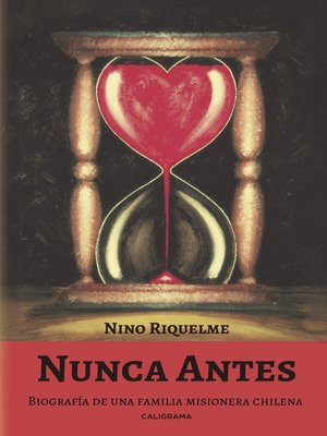 cover image of Nunca antes