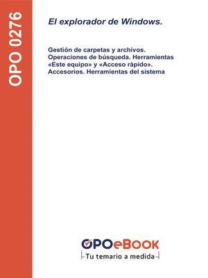 cover image of El explorador de Windows