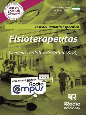 cover image of Fisioterapeutas. Servicio Andaluz de Salud (SAS). Test del Temario Específico