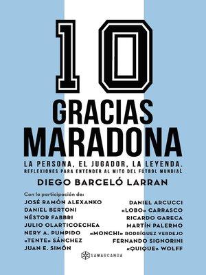 cover image of Gracias Maradona