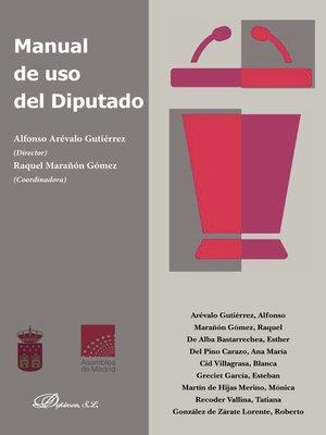 cover image of Manual de uso del diputado