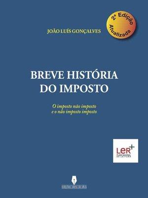 cover image of BREVE HISTÓRIA DO IMPOSTO, 2ª edição atualizada