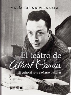 cover image of El teatro de Albert Camus