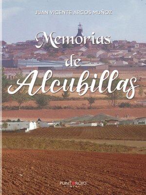 cover image of Memorias de Alcubillas