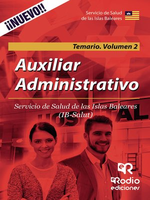 cover image of Auxiliar Administrativo. Servicio de Salud de las Islas Baleares. Temario Volumen 2