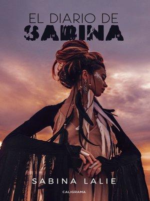 cover image of El diario de Sabina