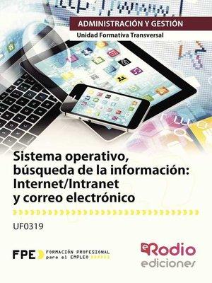 cover image of Internet/Intranet y correo electrónico