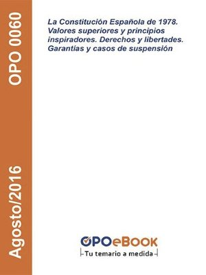 cover image of La Constitución Española de 1978