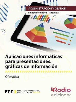 cover image of gráficas de información. Ofimática