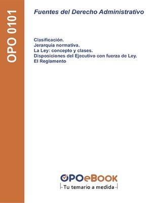 cover image of Fuentes del Derecho Administrativo