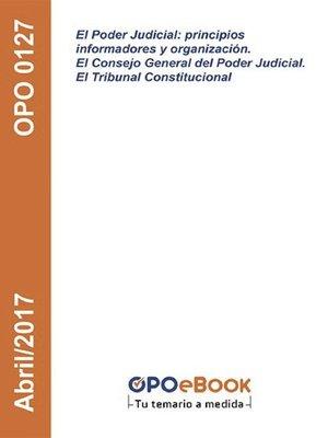 cover image of principios informadores y organización