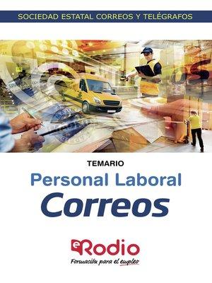 cover image of Correos. Personal Laboral. Temario