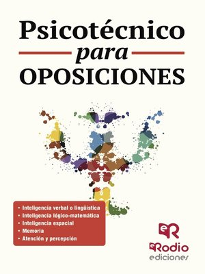 cover image of Psicotécnico para oposiciones