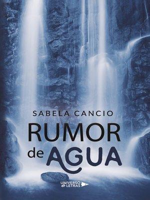 cover image of Rumor de Agua