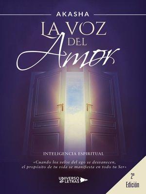 cover image of La voz del amor