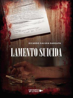 cover image of Lamento Suicida