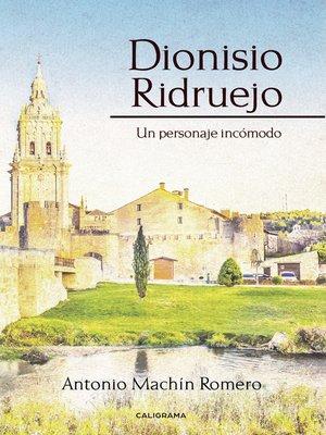 cover image of Dionisio Ridruejo