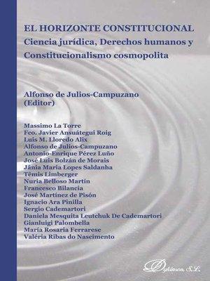 cover image of El horizonte constitucional