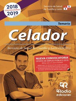 cover image of Celador. Temario. Servicio de Salud de Castilla y León