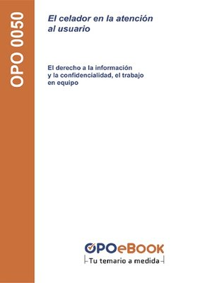 cover image of El celador en la atención al usuario