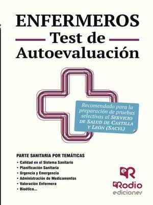 cover image of Enfermeros. Test de Autoevaluación. Servicio de Salud de Castilla y León