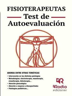 cover image of Fisioterapeutas. Test de Autoevaluación