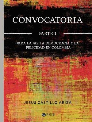 cover image of Convocatoria Parte I