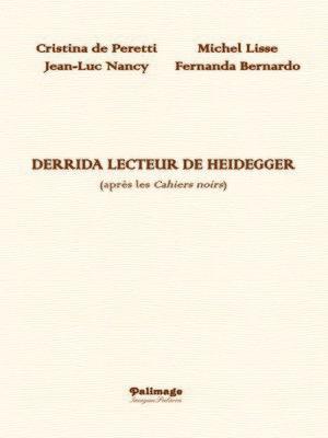 cover image of Derrida lecteur de Heidegger