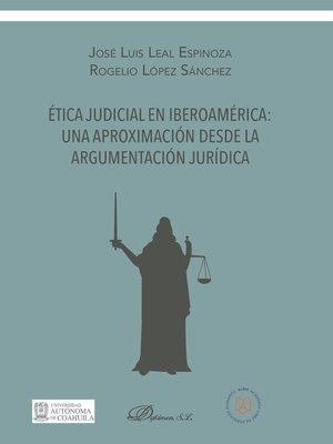 cover image of una aproximación desde la argumentación jurídica
