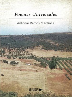 cover image of Poemas Universales