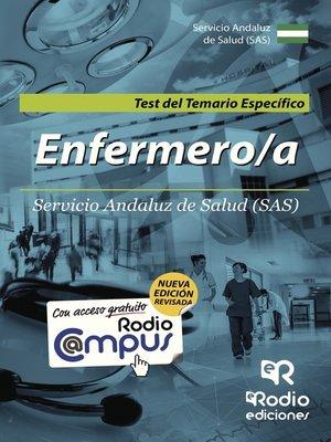 cover image of Enfermero/a del Servicio Andaluz de Salud. Test del Temario Específico