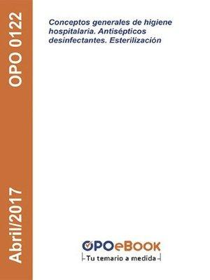 cover image of Conceptos generales de higiene hospitalaria