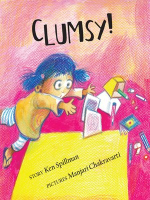 cover image of Clumsy! (English)