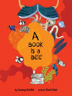 cover image of A Book is a Bee (English)