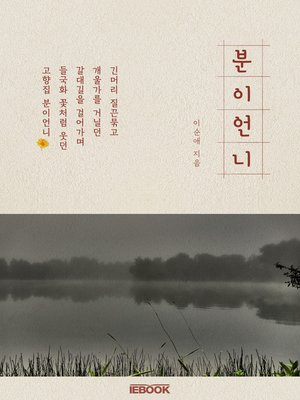 cover image of 분이 언니