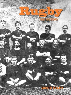 cover image of Rugby: The History