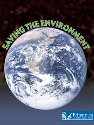 cover image of Saving the Environment