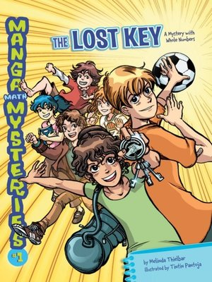 cover image of The Lost Key: A Mystery with Whole Numbers