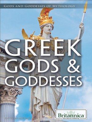 cover image of Greek Gods & Goddesses