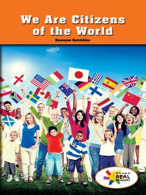 cover image of We Are Citizens of the World